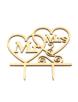 Mr&Mrs-met-hart-taarttopper-Hout
